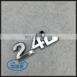 Number and Letter Designs ABS Car Emblem Badge