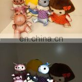 Reflective Dolls Light silk reflective sewing thread safety cute refelctive pets for sales