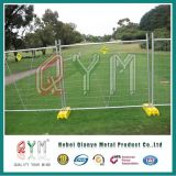 High Security PVC Coated Construction Temporary Fence/ Portable Temporary Fencing
