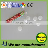 China OEM manufacture factory cotton compressed magic coin tissue