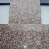 G687 Peach Red Granite Stone Tiles Slabs