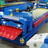 Color Steel Sheet Standard Roof Glazed Tile Forming Machine