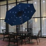 270-8 Market Umbrella with LED light