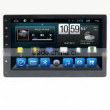 Quad core remote control universal car dvd player,wifi,BT,mirror link,DVR,SWC for 10.1 inch universal
