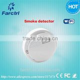 433MHZ Wireless Smoke Detector 20 Square Meters Area Automatic Fire Alarming System for Home/ Office / School / Shop