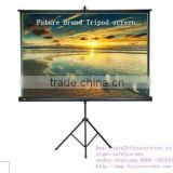 "84""4:3 High quality tripod stand projector screen for led projector"