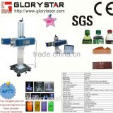 Glorystar CMT-10W/ 30W/60W/100W plastic bottle, comb, wooden box laser marking device dongguan supplier