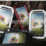 Aluminum case shockproof with gorilla glass Love mei Taktik case for Samsung Galaxy S4