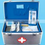 emergency first aid kit aluminum medical kit case medicine chest