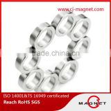 powerful N30UH-N40UH ring permanent neodymium magnet bracelet magnet passed by ISO14001, ISO9001, ISO/TS16949