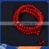 Tibetan Buddhism 108 jequirity Bodhi Seeds Prayer Beads Mala Necklace wholesale
