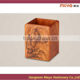 2015 New Products Painting Wooden Pen Holder
