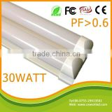 4ft doube tubes together China famous high quality 30w 1200mm led tube wholly plastic t8 tube,t8 plastic tube
