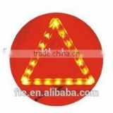 LED emergency warning triangle