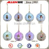 "3.15"" giant glass Christmas ball, wholesale Christmas glass ball, hanging Christmas tree ball"