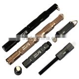 LAIX D3 R EDC Tactical Pen Fire Flint Starter Fire Stick Superhard Metal Scraper and Smart Compass Outdoor Camping Hiking Equipm