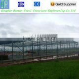 Prefabricated clear span fabric steel farm building