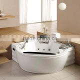 indoor delux bathtub bubble jets whirlpool bathtub with tv