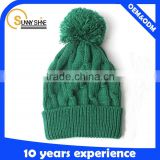 Blank Custom Cheap Skull Knitting Beanie Caps For Men Women