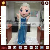 Top quality snow queen elsa cartoon mascot costume for wholesale                                                                         Quality Choice