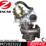 4JB1-T turbocharger for Isuzu MPR turbocharger RHF4H