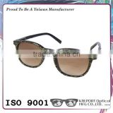 Exceptional silver and golden printing color design optical frame sun bifocal lens reading glasses
