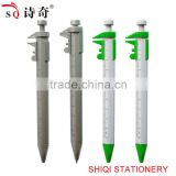Multi function plastic tool ball pens