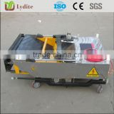 Professional mirror finishing plastering wall render machine for cement wall height to 5m