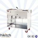 Mobile kitchen for stainless steel LPG gas Multifunctional deep fryer oden cooker tasnack car