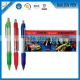 Hot Sales Banner Roller Ball Pen With Paper Inside,Adversting Banner Plastic Banner Roller Pen