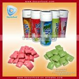 High quality fruity xylitol chewing gum in bottle