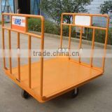 Baggage cart for aviation ground support equipment