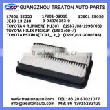 AIR FILTER 17801-35020 17801-08010 17801-55020 JE48-13-Z40 8-94376353-0 FOR TOYOTA 4 RUNNER (_N130)87-96 HILUX PICKUP 83- ESTIMA
