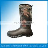 cheap custom made rain boots men hunting & fishing