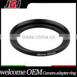 Camera 46-55mm Camera Lens Filter Step-up Ring For Canon 1200D 1100D For Nikon D3200 D5300