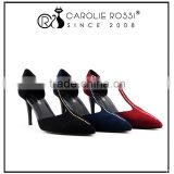 Mary Jane suede leather style t strap rivet buckle low heel line dance shoes