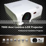 7000lumens auto Focus HDMI DVI USB DP Digital multimedia video 7000 ansi lumens hdmi projector
