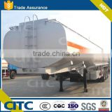 2015 new 2-axles 38L aluminum petroleum tank semi trailer chemical storage tank semi trailer oil tanker semi trailer