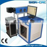 bottle date code logo printing machine co2 laser marking machine