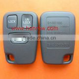 Hot selling Volvo 3 button remote key shell, Volvo 3 button remote key blank