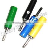 4mm and 2mm banana plug and socket