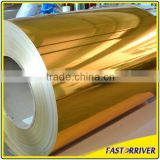 1060 alloy thin mirror finished matted reflective aluminum coil