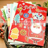 Custom Printing Paper Presentation file Folder with your own design and pockets for ducumets