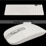 Ultraplate slim 2.4 GHZ wireless keyboard optical air mouse set