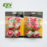 colorful rainball golf pratice ball