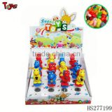 Plastic small swing toy sweet candy machine toys