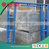 1219*1702mm Galvanized arch steel Mason frame and Painted Scaffolding door Frame Supplier