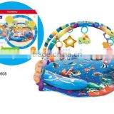 Hot selling baby playmat with music two sides similar to fisher price                                                                         Quality Choice