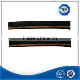 Heat resistant sae 100 r1 steel wire braided cloth covered hose