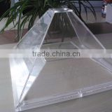 Custom Lexan polycarbonate machine hood/Lexan machine cover shield